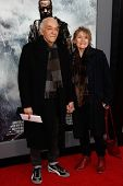 NEW YORK-MAR 26: Actor Mark Margolis and wife Jacqueline Margolis attend the premiere of