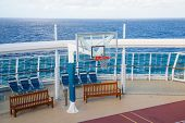 Basketball Goal On Cruise Ship