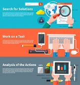 pic of tasks  - Search for solutions infographic - JPG