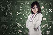 Female Physician In Laboratory
