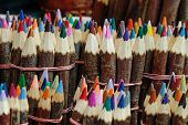 Troglodits color pencils