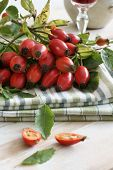 pic of dog-rose  - Rose Hips also known as rose haw fruit of the Dog Rose