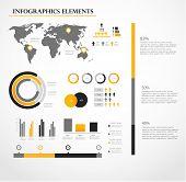 Human infographic vector illustration.