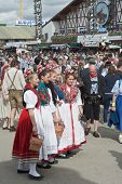 Traditional Dress At The Octoberfest
