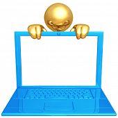 Ultra Thin Laptop Presenter