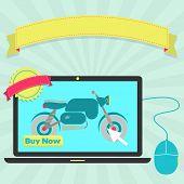 Buy Motorcycle Online Through Laptop