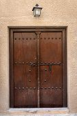 Antique Old Wooden Door