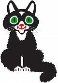 A Black Kitten