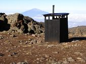 Toilet Facilities On Kilimanjaro