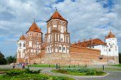 Belarus, Grodno Region, Mir Castle
