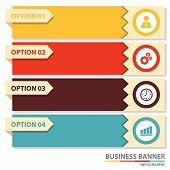 Business Banner Infographic