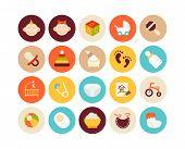 Flat icons set 27