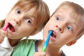 Brushing Teeth Children