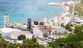 Sugar Factory On St Martin Coast
