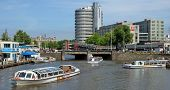 Amsterdam - View Of Amsterdam City And Canals
