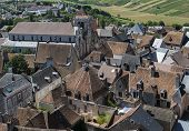 City Of Sancerre with Church
