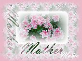Mother's Day Postcard poster