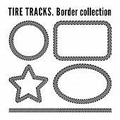 ������, ������: Tire tracks