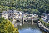 Bridge Over The Rive Ourthe In La Roche-en-ardenne