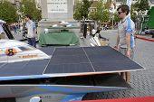 Solar Powered Car Antwerp