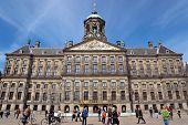 Amsterdam - Royal Palace At The Dam Square
