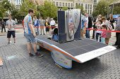 Solar Powered Car Antwerp