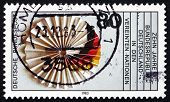 Postage Stamp Germany 1983 German Flag