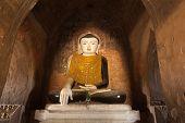 Buddha statue at Bagan Kingdom. Myanmar (Burma)