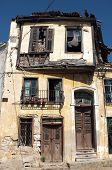 Old abandoned Greek house