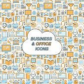 Business seamless pattern