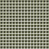 Black-Yellow-White Extra Small Butterfly Pattern