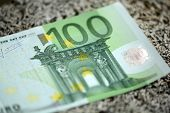 Close Up Of European Hundred Euros - 100