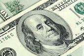 Close-up Of A $100 Banknotes
