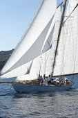Ancient Sailing Boat  Classic Yachts Challenge On Sept 10-14 2014 Im