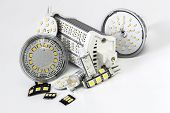 Various Led Bulbs G4, Gu10, Mr16, R7S And Individual Chips