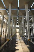 Pillars at Malaysia National Mosque aka Masjid Negara