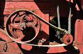 Red Thresher Detail