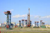 Oil Field Scen
