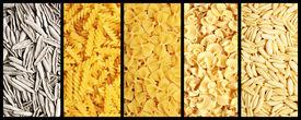 picture of pene  - Image of italian pasta set background texture - JPG