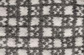 Gray Mitten Background, Grey White Textured Woolen Mittens Pattern, Knitted Warm Wool Winter