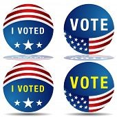 An image of a set of vote buttons.