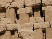 Clay Brick Wall