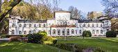 Kurhaus With Scenic Park In Bad Soden