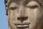 Buddha Face In Wat Chaiwatthanaram, Ayutthaya, Thailand
