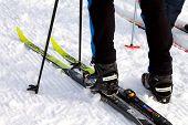 Salomon Ski Boots And Fischer Skis