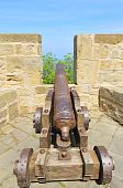 Pistola antigua en San Sebastian (donostia)