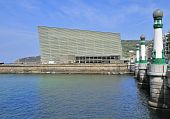 der Kursaal Kongresspalast in San Sebastián