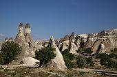 foto of chimney rock  - Fairy Chimneys rock formation nearby G - JPG