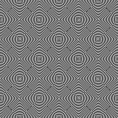 Seamless geometric texture. Circles pattern. Vector art.