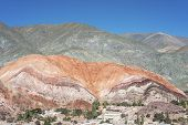 Hill Of Seven Colors In Jujuy, Argentina.